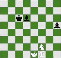 Checkmate in one puzzle