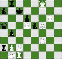 Checkmate in three puzzle